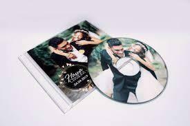 печать на диске свадьба