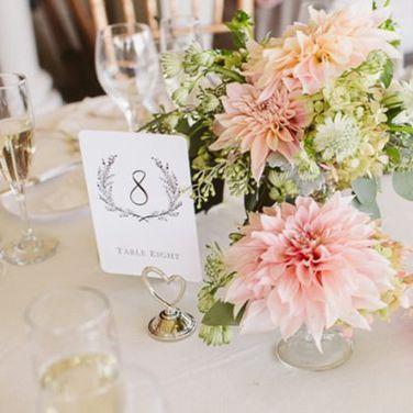 номера столов на свадьбу дизайн и печать в Минске